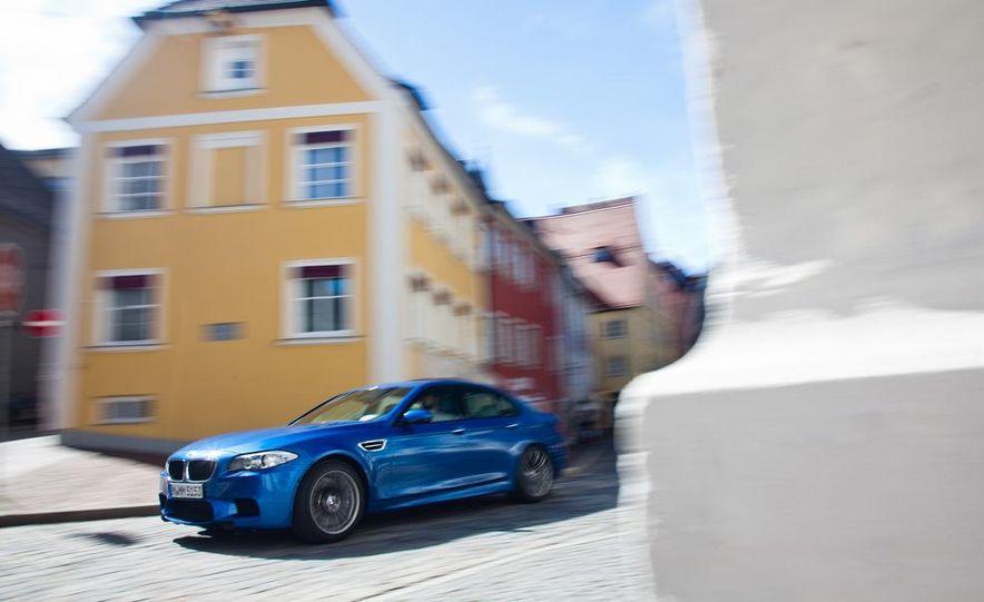 2012 Mercedes-Benz E63 AMG, 2013 Audi S6, and BMW M5 - Slide 22