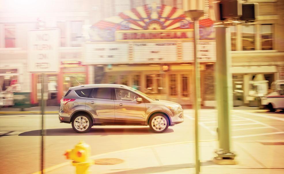2013 Ford Escape Titanium 20L EcoBoost 4WD Test  Review  Car