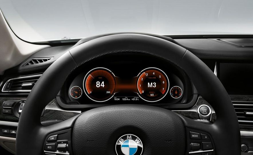 2013 BMW 750d xDrive and 750Li - Slide 12