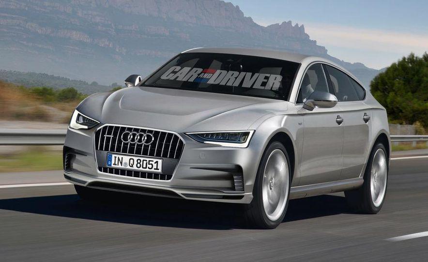 2016 Audi Q8 (artist's rendering) - Slide 1