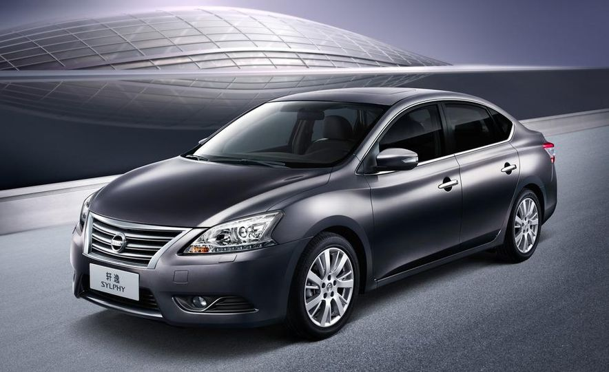 2013 Nissan Sentra (spy photo) - Slide 12