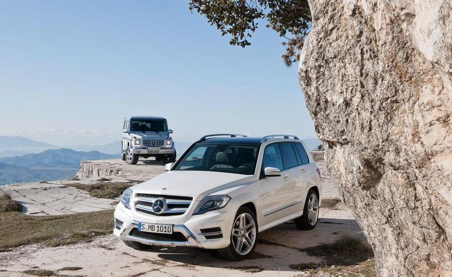 2013 Mercedes-Benz GLK350 4MATIC - Slide 13