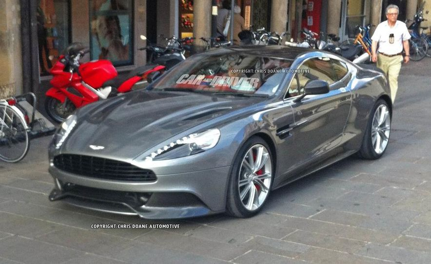 2013 Aston Martin Vanquish (spy photo) - Slide 1