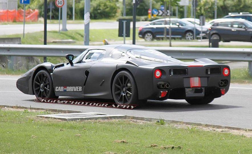 Ferrari Enzo Replacement (spy photo) - Slide 7