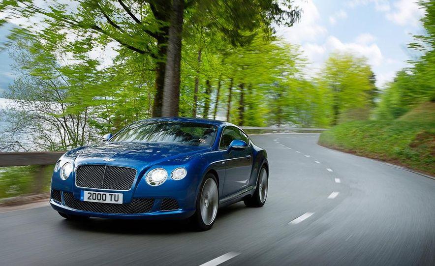 2013 Bentley Continental GT Speed - Slide 9