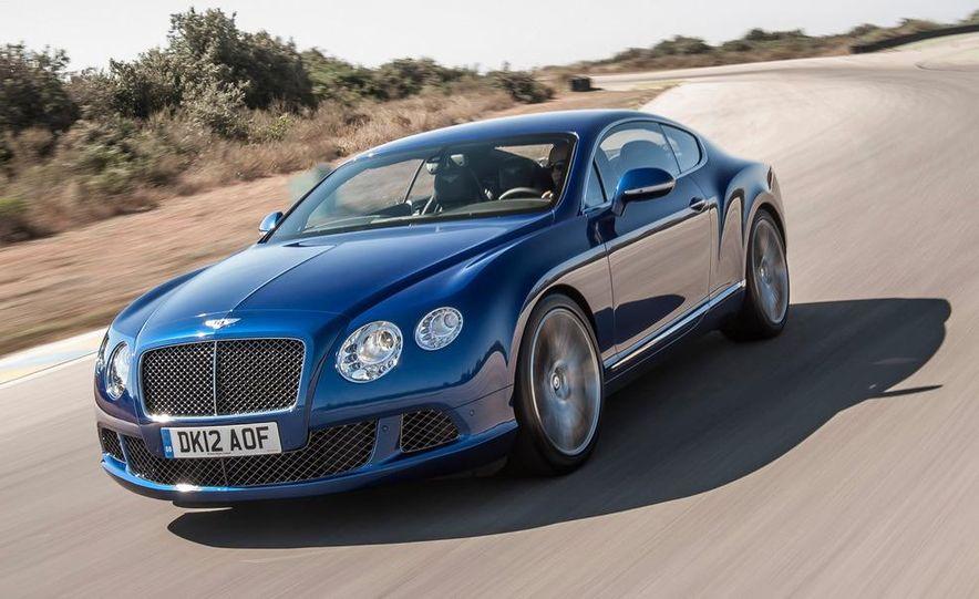 2013 Bentley Continental GT Speed - Slide 1