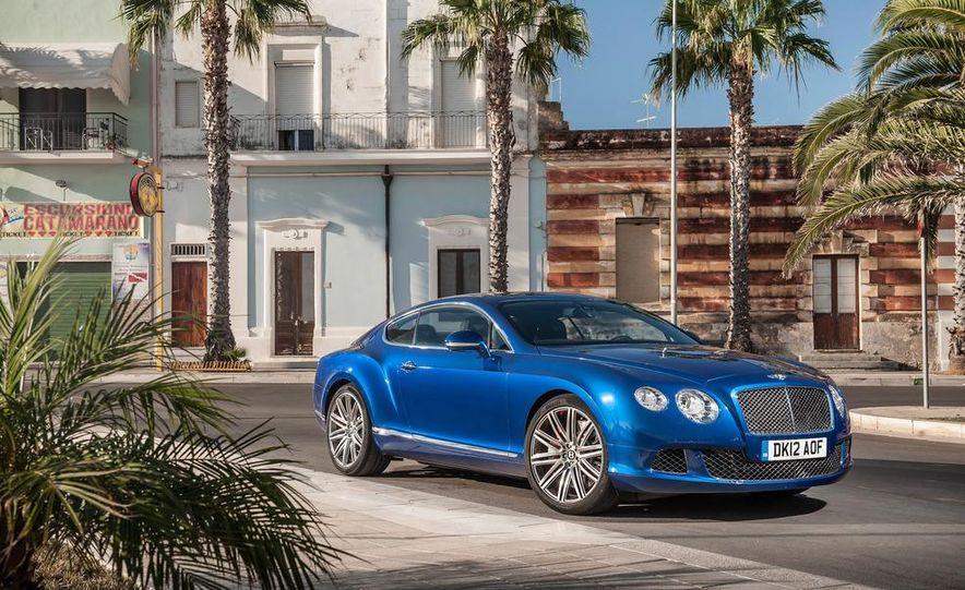 2013 Bentley Continental GT Speed - Slide 11
