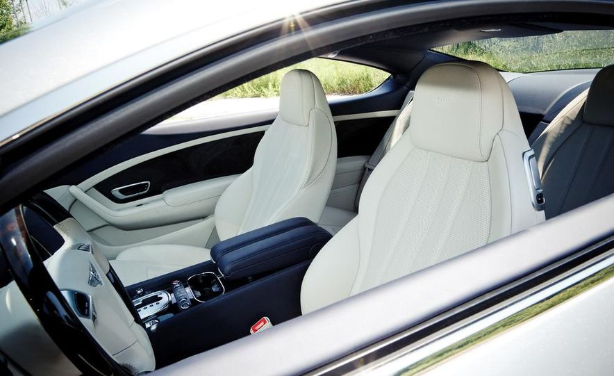 2012 Bentley Continental GT W-12 - Slide 24