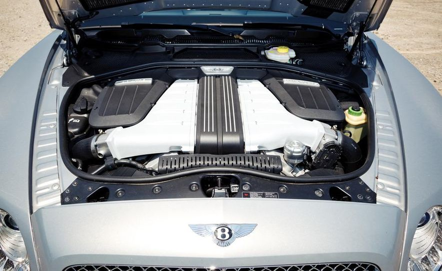 2012 Bentley Continental GT W-12 - Slide 35