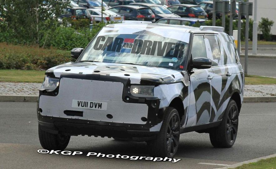2014 Land Rover Range Rover (spy photo) - Slide 9