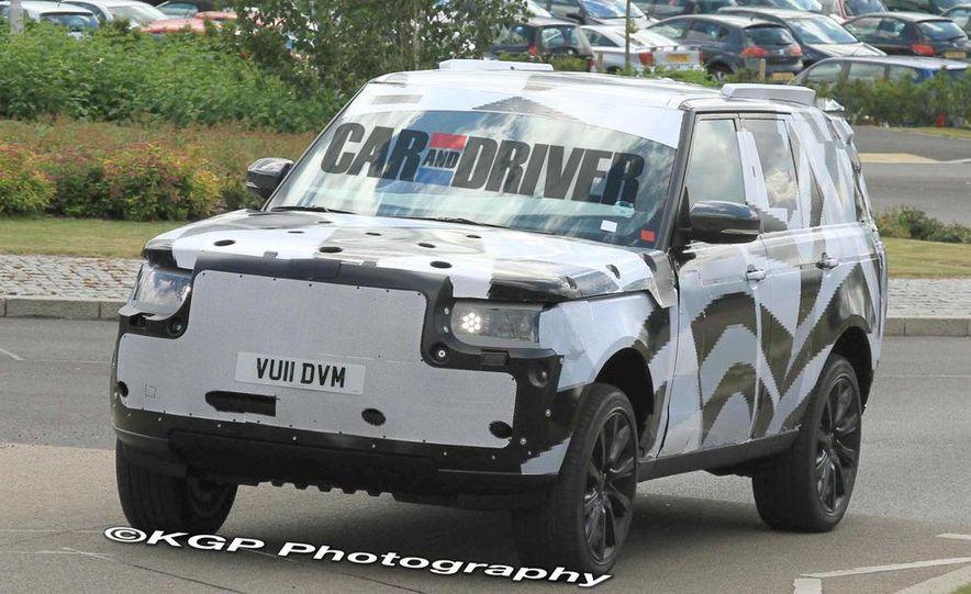 2014 Land Rover Range Rover (spy photo) - Slide 10