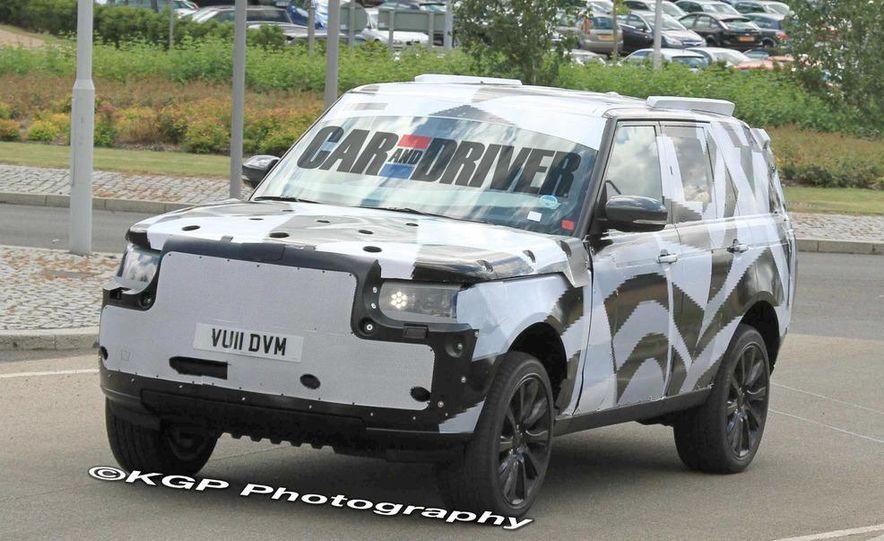 2014 Land Rover Range Rover (spy photo) - Slide 11