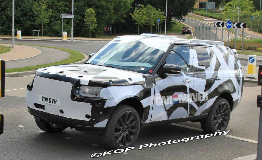 2014 Land Rover Range Rover (spy photo) - Slide 12