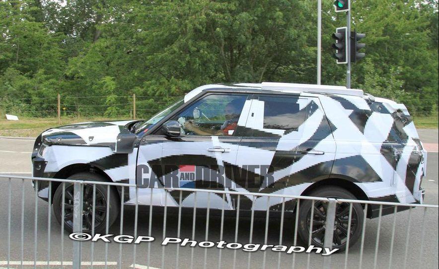 2014 Land Rover Range Rover (spy photo) - Slide 13