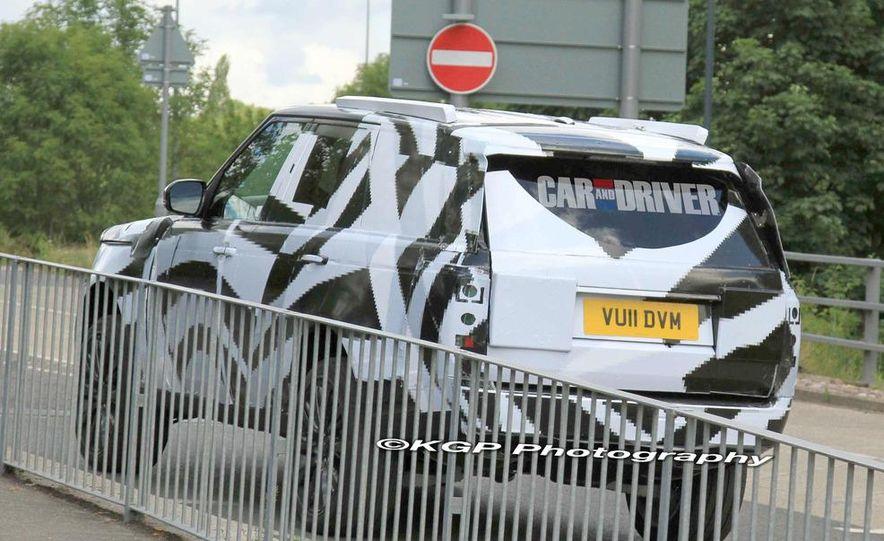 2014 Land Rover Range Rover (spy photo) - Slide 18