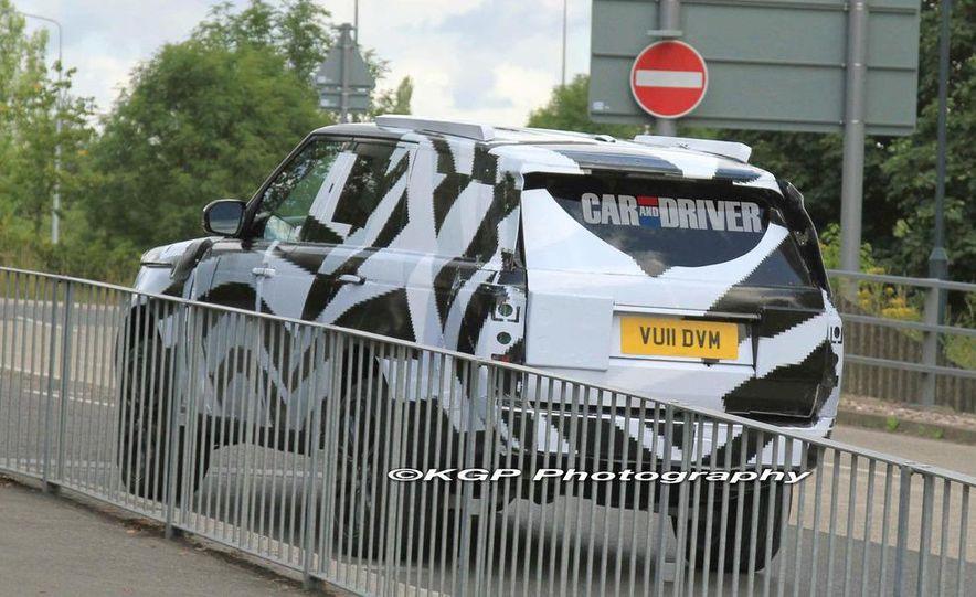 2014 Land Rover Range Rover (spy photo) - Slide 19