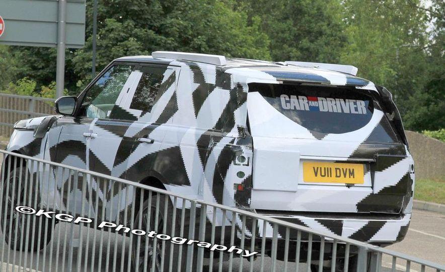2014 Land Rover Range Rover (spy photo) - Slide 20