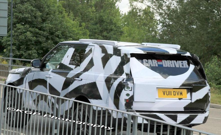 2014 Land Rover Range Rover (spy photo) - Slide 21