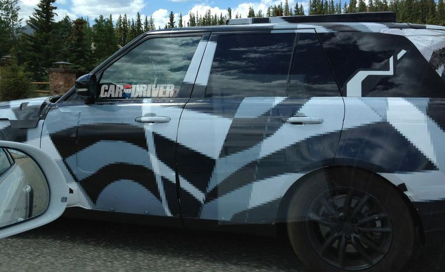 2014 Land Rover Range Rover (spy photo) - Slide 1