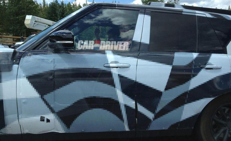 2014 Land Rover Range Rover (spy photo) - Slide 2