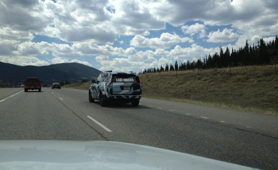 2014 Land Rover Range Rover (spy photo) - Slide 5