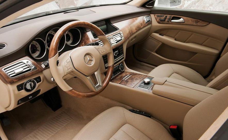 2013 Mercedes-Benz CLS500 4MATIC Shooting Brake - Slide 43