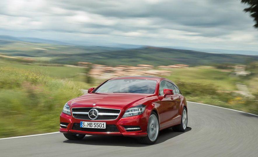 2013 Mercedes-Benz CLS500 4MATIC Shooting Brake - Slide 5