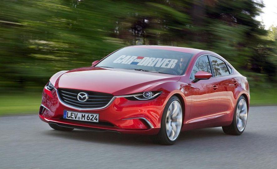 2014 Mazda 6 (artist's rendering) - Slide 1
