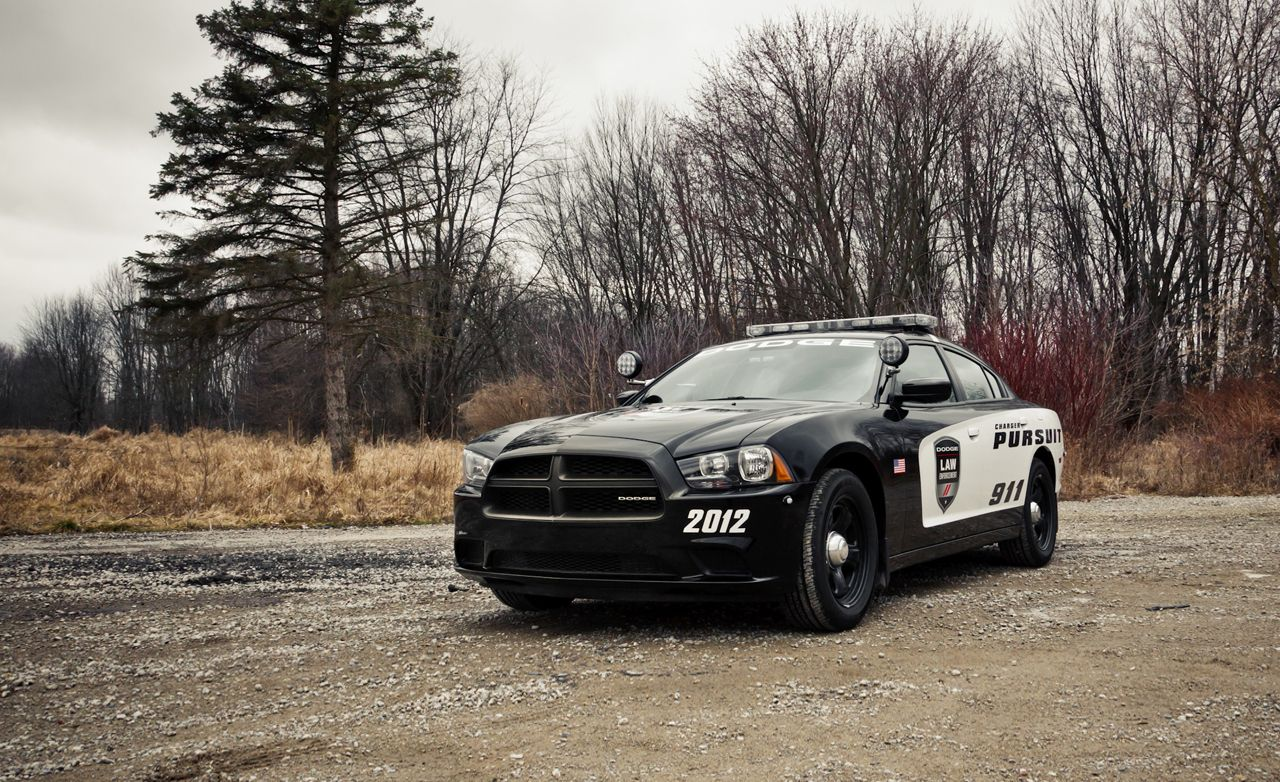 2012 Dodge Charger Pursuit Police Package Instrumented