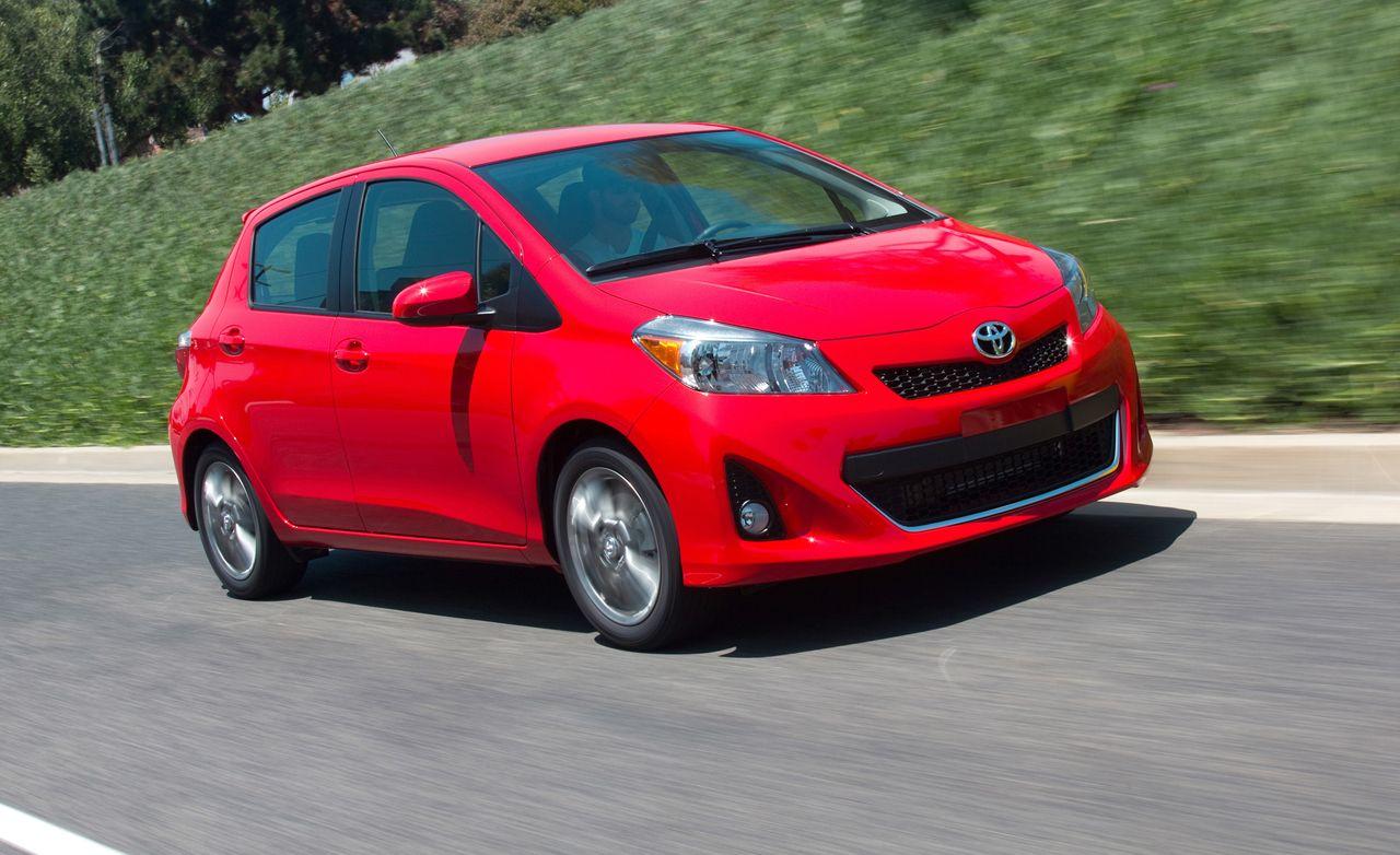 2012 Toyota Yaris Hatchback Automatic