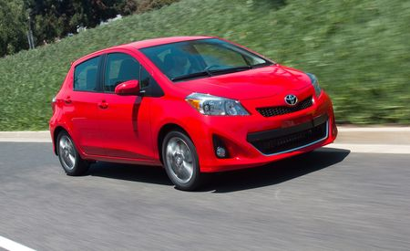 2012 Toyota Yaris Hatchback Automatic
