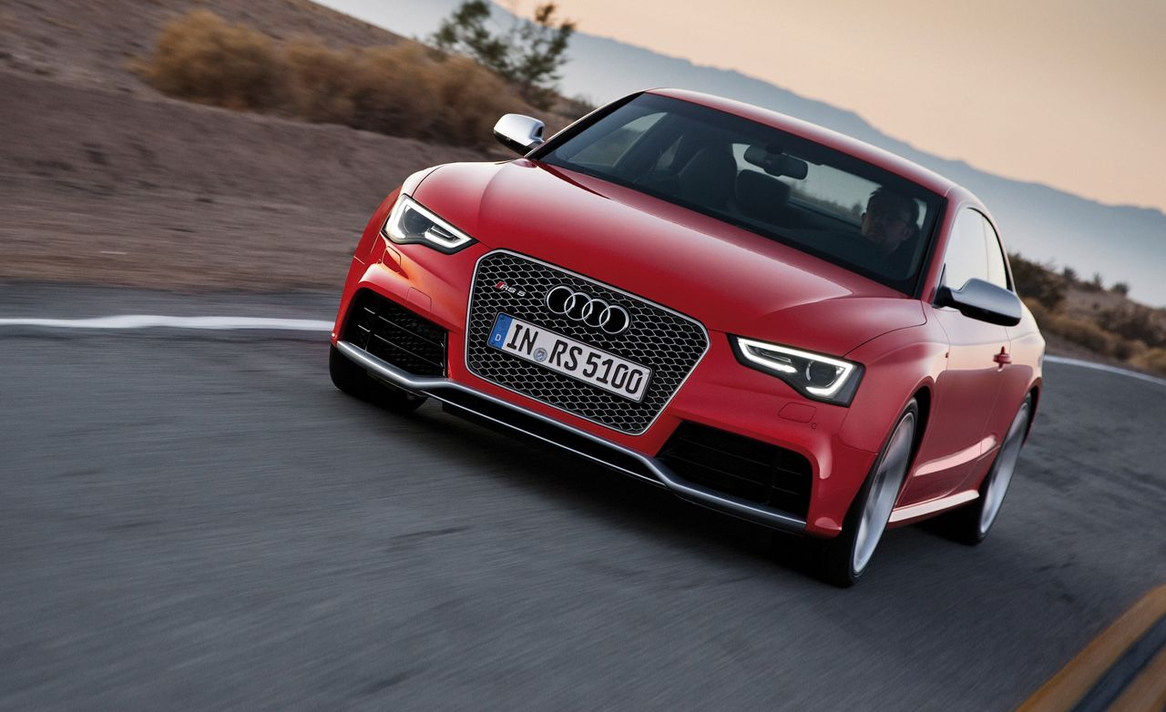 2013 Audi Rs5 First Drive Review Car And Driver