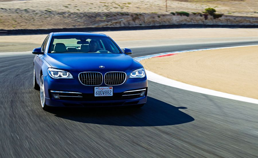 BMW Series Alpina B First Drive Review Car And Driver - Bmw alpina 7 series