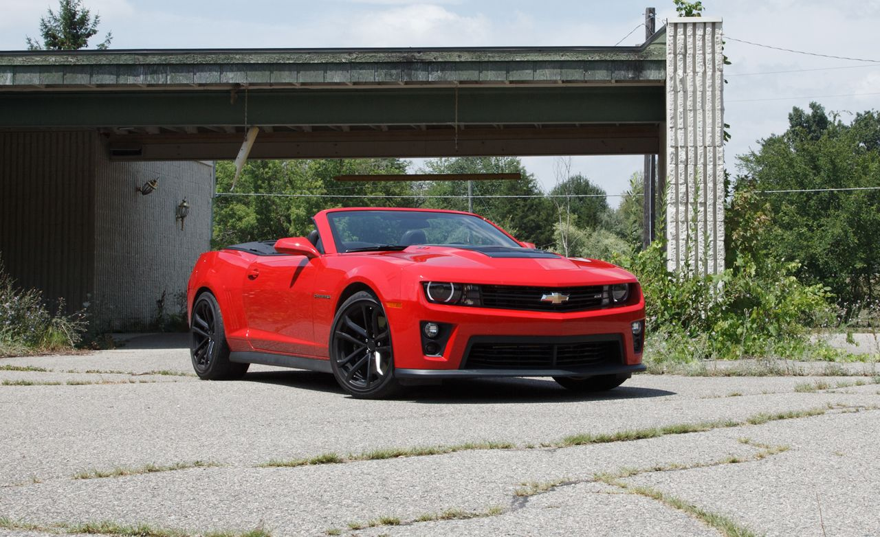 2013 Chevrolet Camaro ZL1 Convertible Test | Review | Car ...2013 Camaro Zl1 Convertible