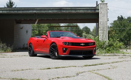 2013 Chevrolet Camaro ZL1 Convertible Manual