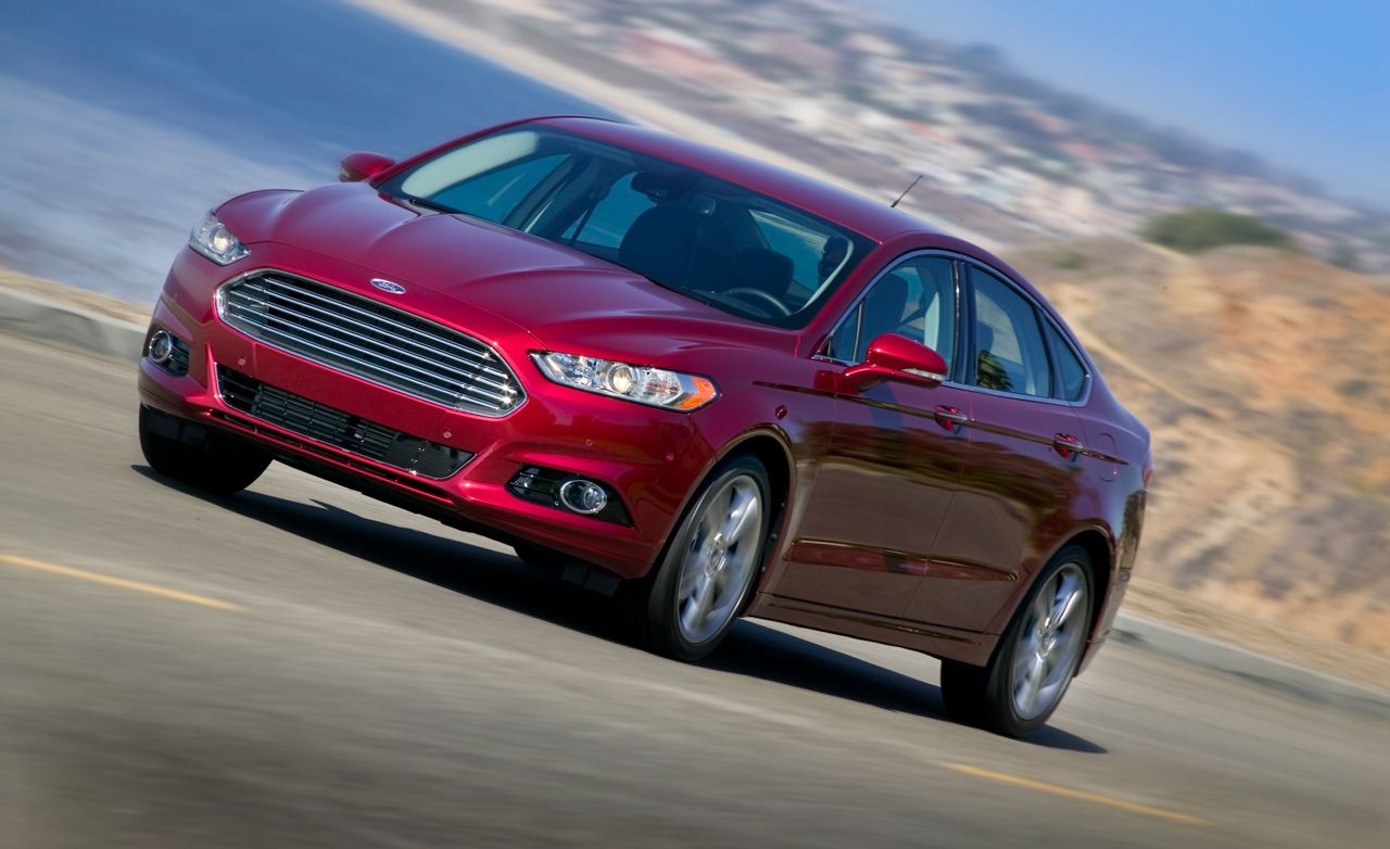 2013 ford fusion 1 6 and 2 0 ecoboost first drive review car and driver. Black Bedroom Furniture Sets. Home Design Ideas