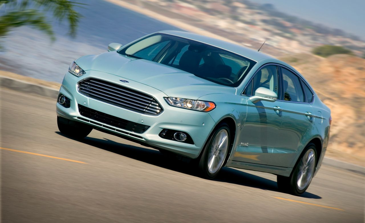 2013 ford fusion hybrid first drive review car and driver