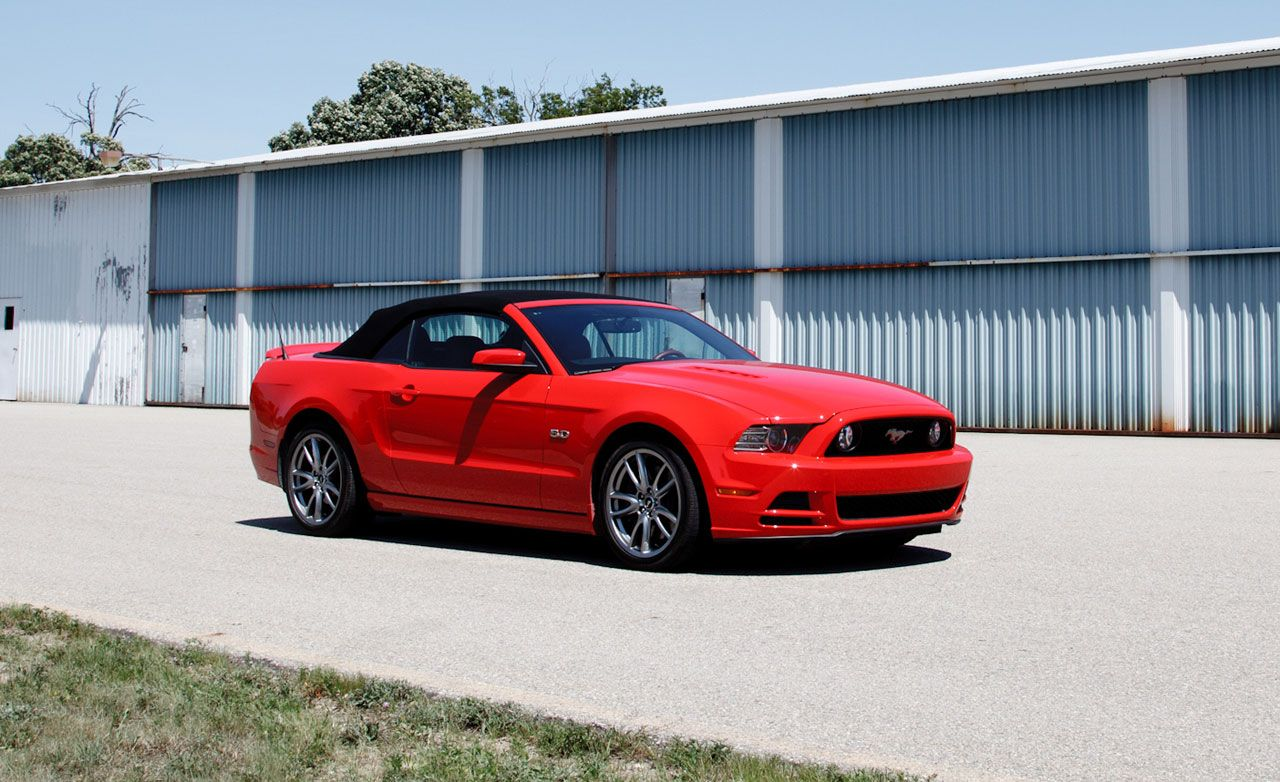 2013 ford mustang gt 5 0 convertible automatic test review car and driver