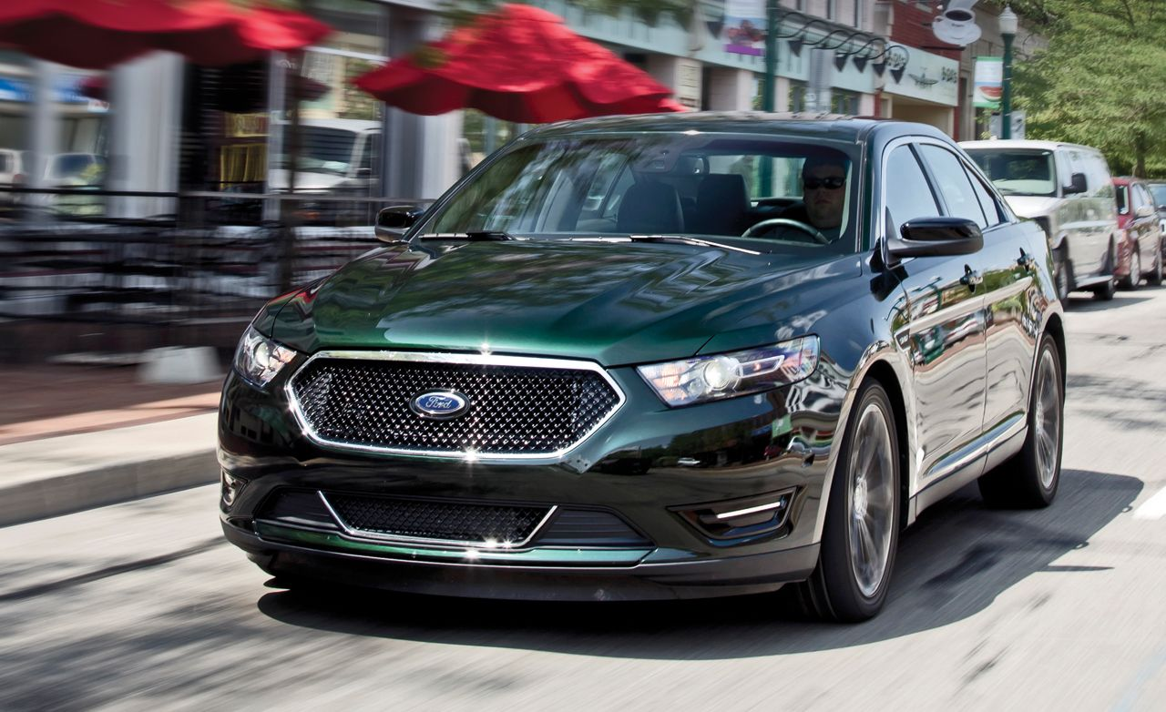 2013 ford taurus sho instrumented test review car and driver