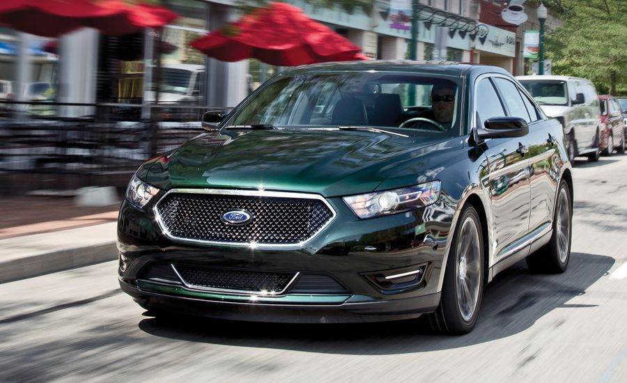 2013 ford taurus sho instrumented test review car and. Black Bedroom Furniture Sets. Home Design Ideas