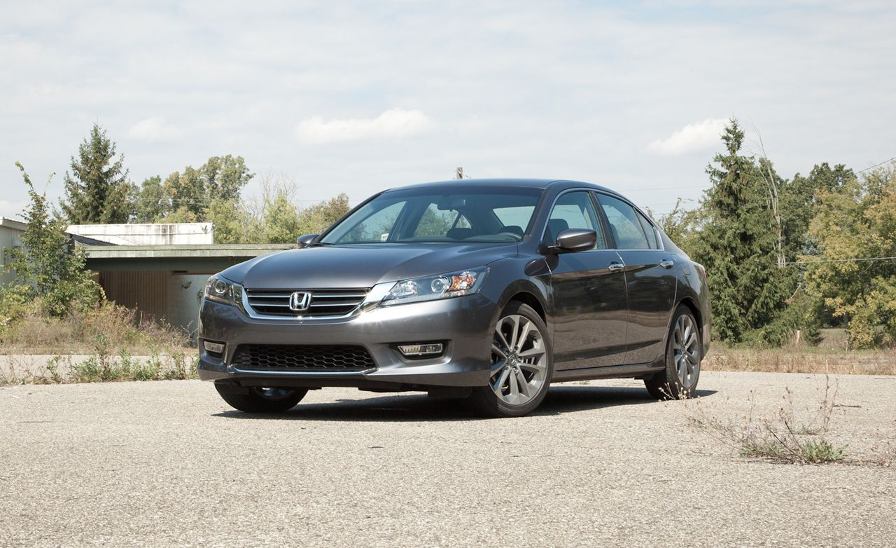 2013 Honda Accord Sedan 2.4L Manual