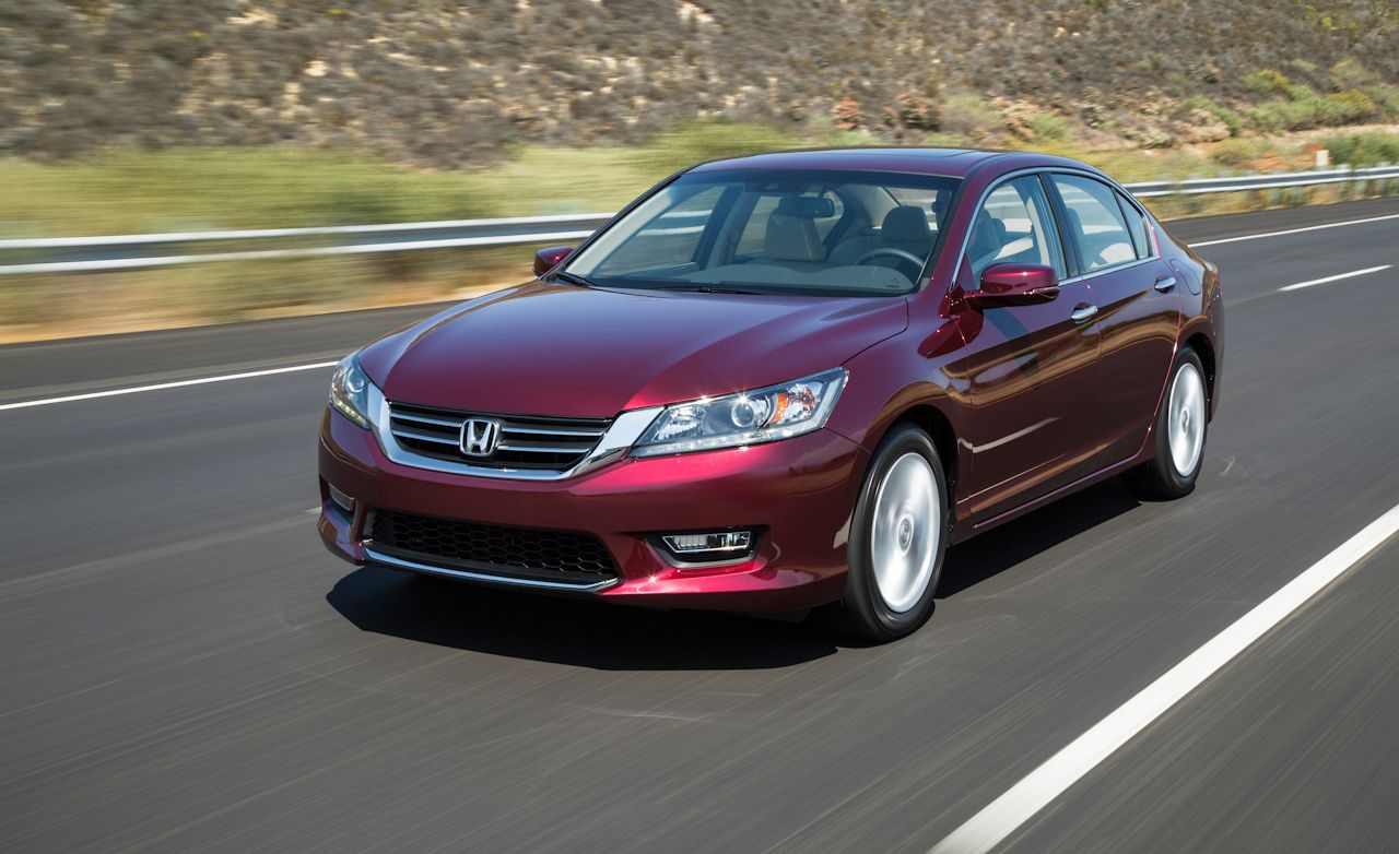 2013 honda accord sedan first drive review car and driver for Honda accord used 2013