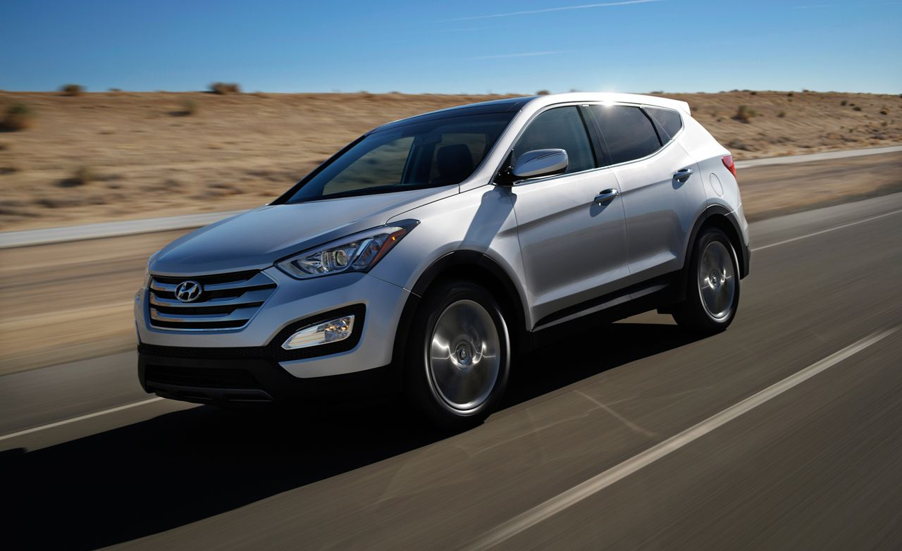 2013 Hyundai Santa Fe Sport 2 0t First Drive Review