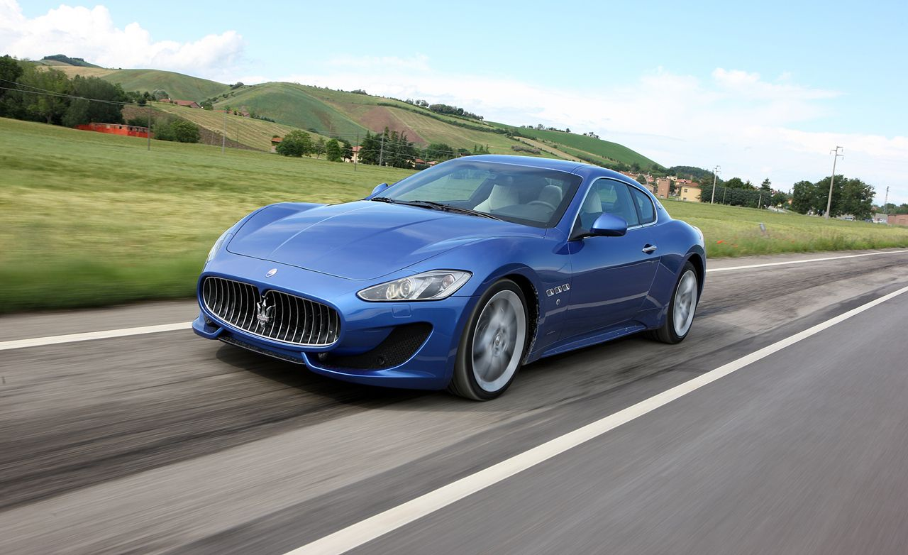 Maserati granturismo mpg