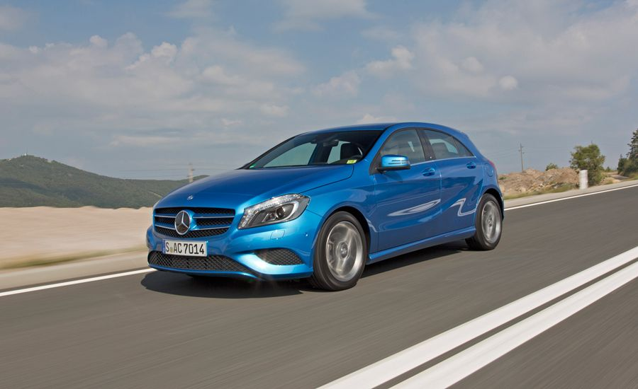 2013 mercedes benz a class first drive review car and. Black Bedroom Furniture Sets. Home Design Ideas