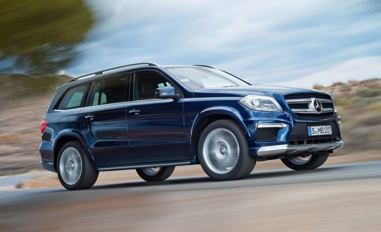 2013 Mercedes Benz Gl350 Diesel Gl450 Gl550 First Drive Review Car And Driver