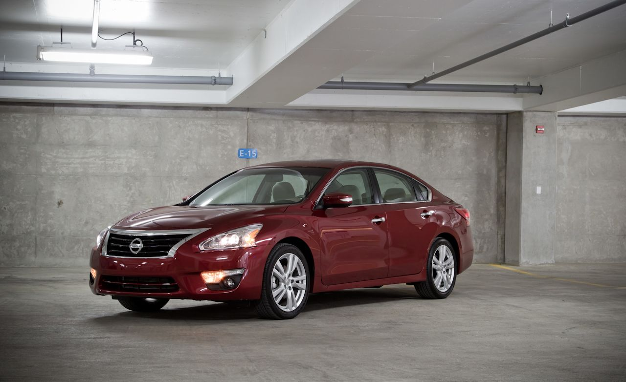 2013 Nissan Altima 35 Sv Test Review Car And Driver 2014 S Wiring Diagram