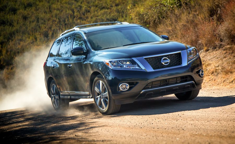 2013 Nissan Pathfinder First Drive Review Car And Driver