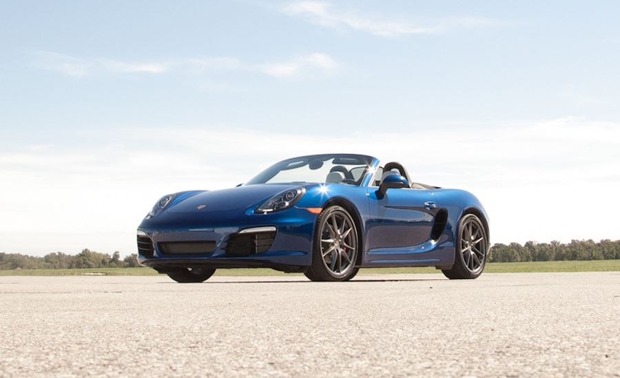 Car And Driver Boxster S Pdk
