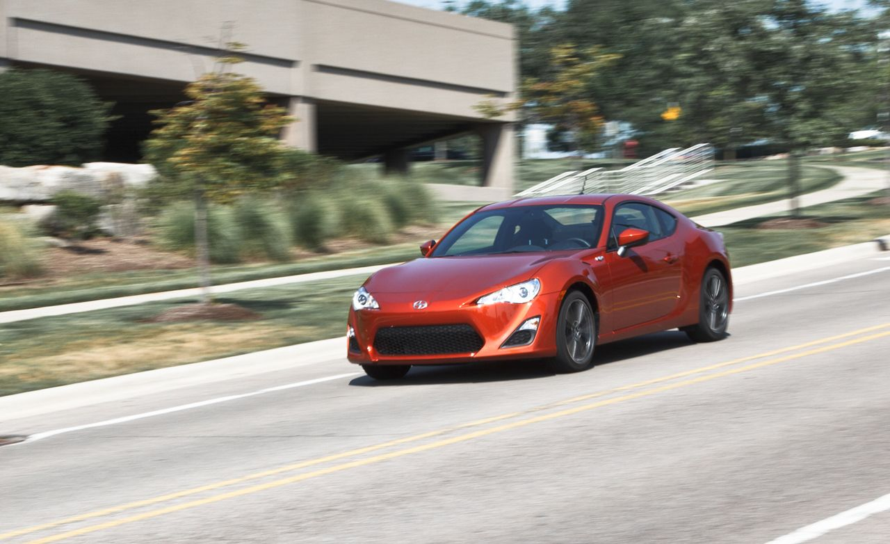 2013 Scion Fr S Automatic Instrumented Test Review Car